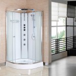 Opus Offset Quadrant Shower Cabin 1200 x 800mm LH