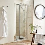 Pacific 800mm Shower Enclosure Bi-Fold Door