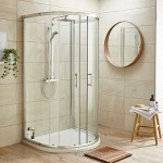 Pacific 1050mm D Shape Shower Enclosure