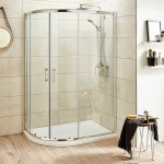 Pacific 1000 x 800mm Offset Quadrant Shower Enclosure