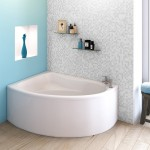 Pilot Offset Acrylic Corner Bath Panel