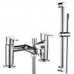 Jasmine Bath Shower Mixer Tap & Rail Kit