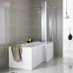 Complete Square Shower Bath 1700 x 850mm RH