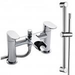 Sutton Bath Shower Mixer Tap & Rail Kit