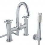 Tec Crosshead Bath Shower Mixer Tap