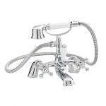 Viscount Bath Shower Mixer Tap Small Handset